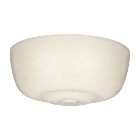 Casablanca 99059 Cased White Transitional Glass Bowl for 99023