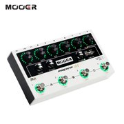 MOOER PREAMP LIVE Professional Digital Preamp Pedal Preamplifier12 Channels Pre & Post 3-Band EQ Speaker Cabinet Simulation with MIDI IN/OUT XLR Output