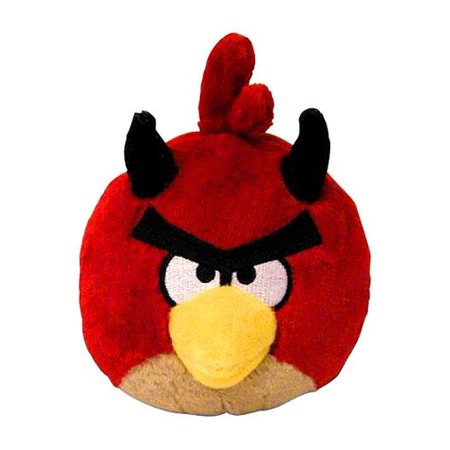 Angry Birds Red Devil Plush [Halloween]](Diy Halloween Plushies)