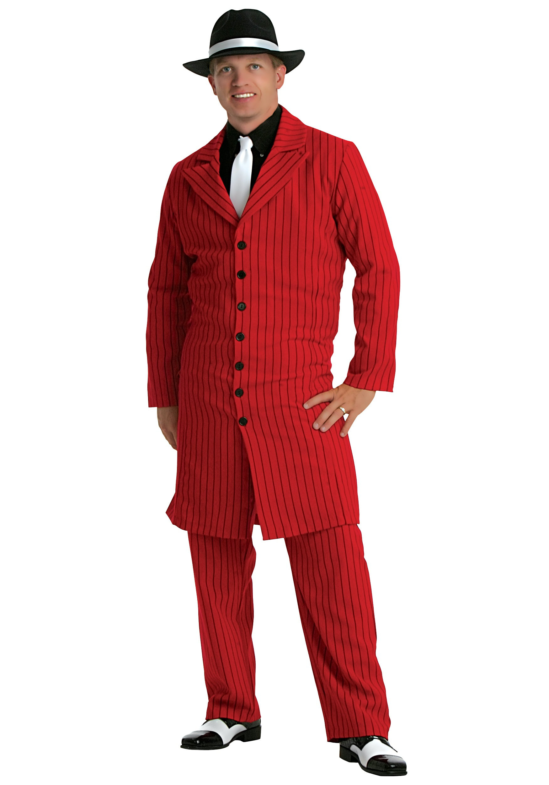 Boys Mafia Gangster Pinstriped Child Zoot Suit Costume