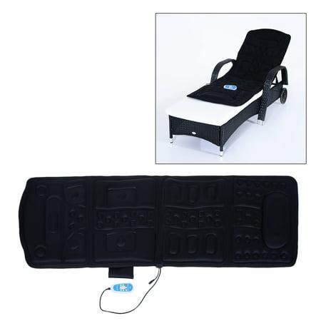 Motor Heated Massage Mat - 10-Motor Heated Vibration Massage Plush Mat