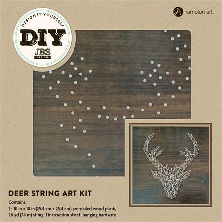 Hampton Art Deer String Art Kit, 1 Each