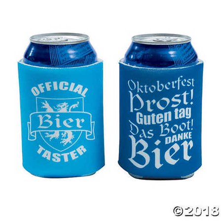 Oktoberfest Sayings Can Sleeves - Oktoberfest Sayings