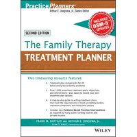 PracticePlanners: The Family Therapy Treatment Planner, with Dsm-5 Updates, 2nd Edition (Paperback)