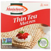 Manischewitz Thin Tea Matzo Crackers, 10 Oz