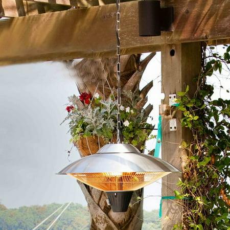 hanging patio heater. AZ Patio Heaters 1500 Watt Electric Hanging Heater R