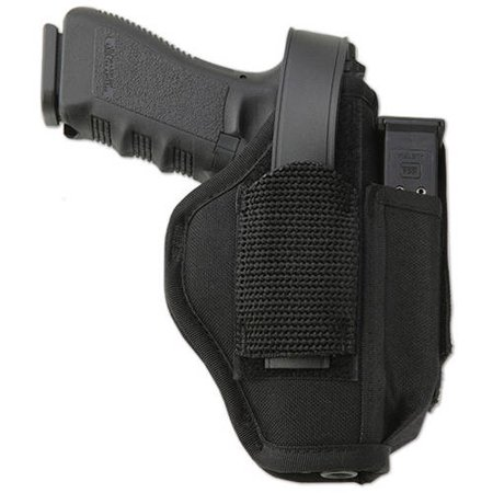 UNCLE MIKES HIP HOLSTER 8106-2 06-2 BLACK NYLON