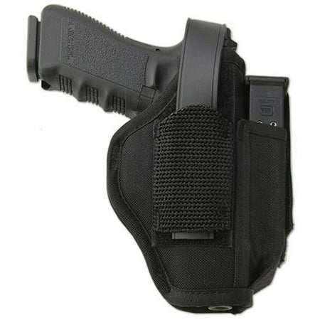 UNCLE MIKES HIP HOLSTER 8106-2 06-2 BLACK (Black Holster)