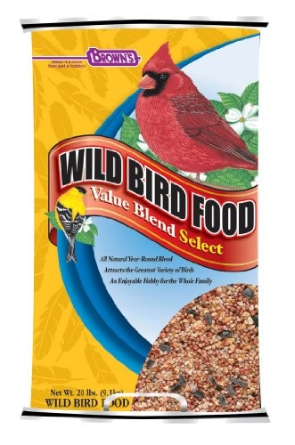 Brown's Value Blend Select Wild Bird Food, 20 Lb by F.M. BROWN'S SONS, INC.