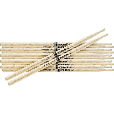 Promark 6 Pair Japanese White Oak Drumsticks Wood 7A