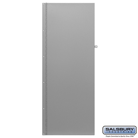 Salsbury Industries 2451 Rear Cover - Hasp - for Data Distribution Aluminum Boxes - on Data Distribution Column