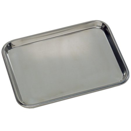Flat Tray (Grafco 3261 Flat Type Instrument Tray, Stainless Steel, 13-5/8