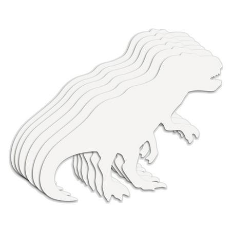 Roylco® Big Huge Fingerpaint Paper Shapes, Dinosaur, 22