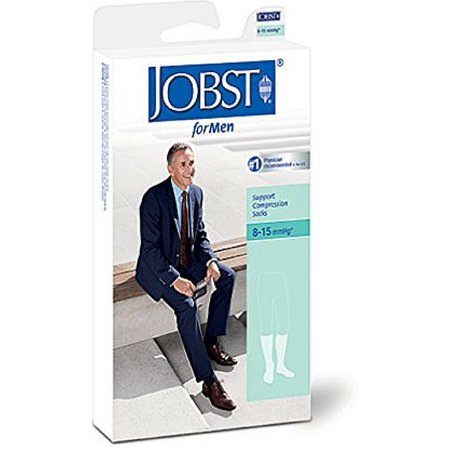 Jobst Supportwear - JOBST SupportWear Socks For Men Knee High 8-15 mmHg Navy X-Large 1 Pair