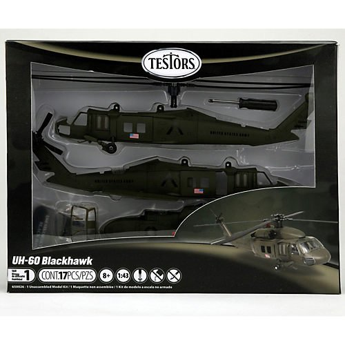 1/60 UH-60 Black Hawk Helicoptor, Skill 1
