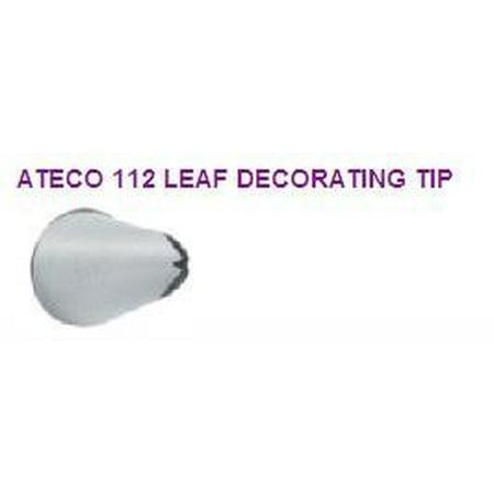 Cake / Cupcake Decorating Leaf Icing Tip #112