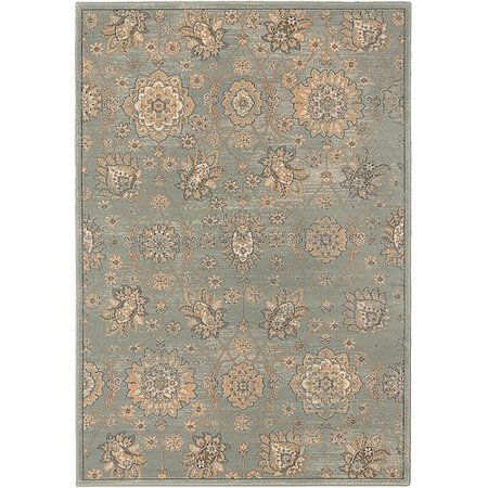 Darby Home Co Ismenia Olive Green Area Rug