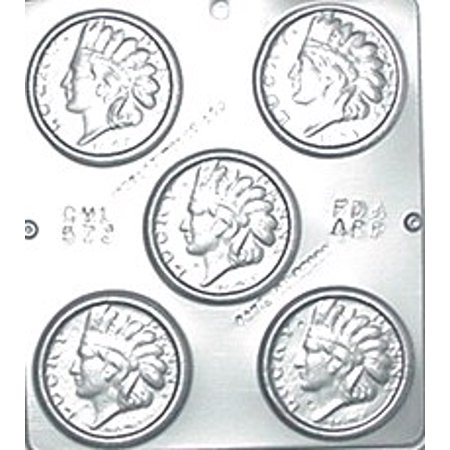 Lucky Chocolate - 573 Lucky Penny Chocolate Candy Mold