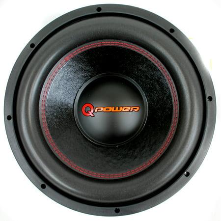 Q Power 12 Inch 3000 Watt Super Deluxe Subwoofer  DVC Car Audio Sub | QP12-Super ()