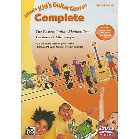 Alfred's Kid's Guitar Course