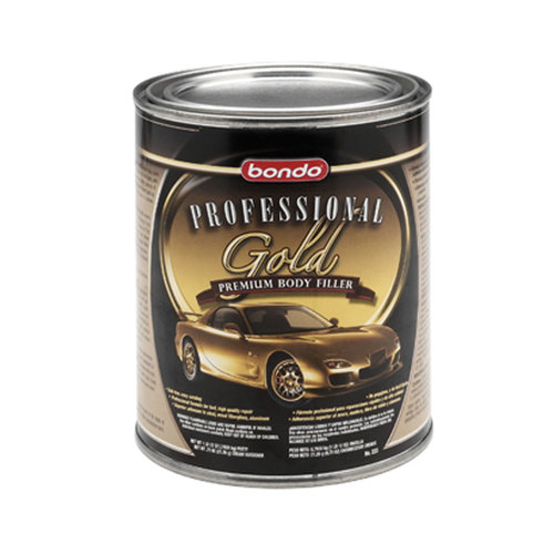 3M Bondo 00233 Professional Gold Body Filler, 1 Quart