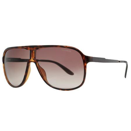 Carrera New Safari KME J6 Havana Choco Brown Mirrored Unisex Aviator (Carerra Sun Glasses)