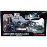 Final Fantasy Play Arts Kai Cloud on Fenrir Action Figure