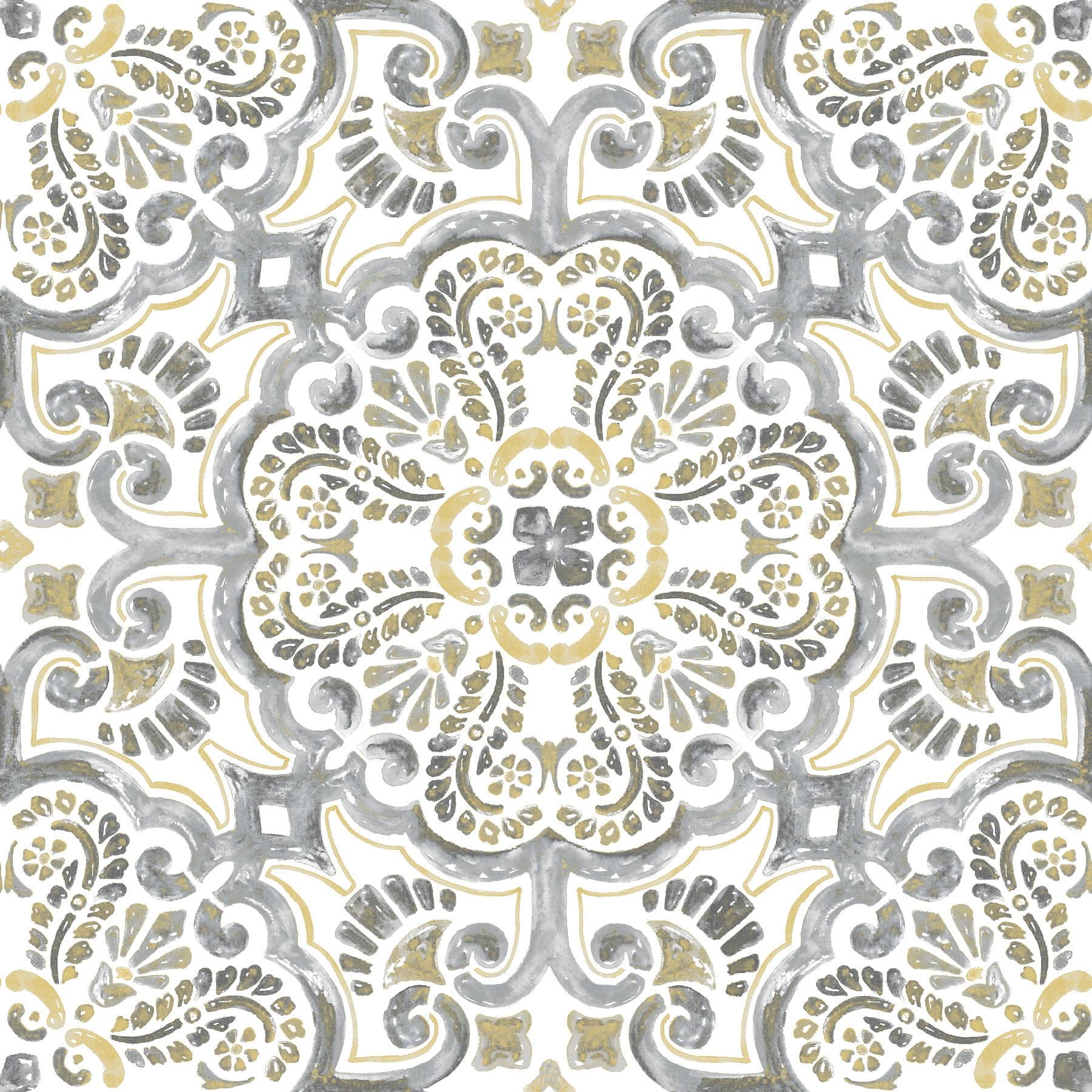 FloorPops Antico Peel & Stick Floor Tiles 10 Tiles/10 sq. ft.