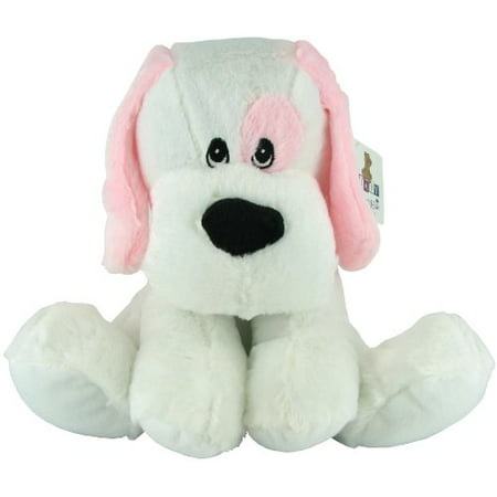 Plush Rattle Blue Dog by Beverly Hills Teddy Bear - Teddy Bear Dog
