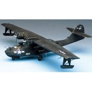 Academy 12487 Consolidated PBY-5A 'Black Cat' 1/72 Scale Plastic Model Kit
