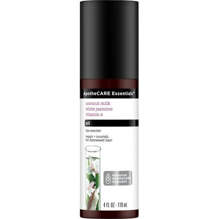 Vitamin Tonic - 4 Pack - ApotheCARE Essentials The Mender Hair Oil Coconut Milk, White Jasmine, Vitamin E 4 oz