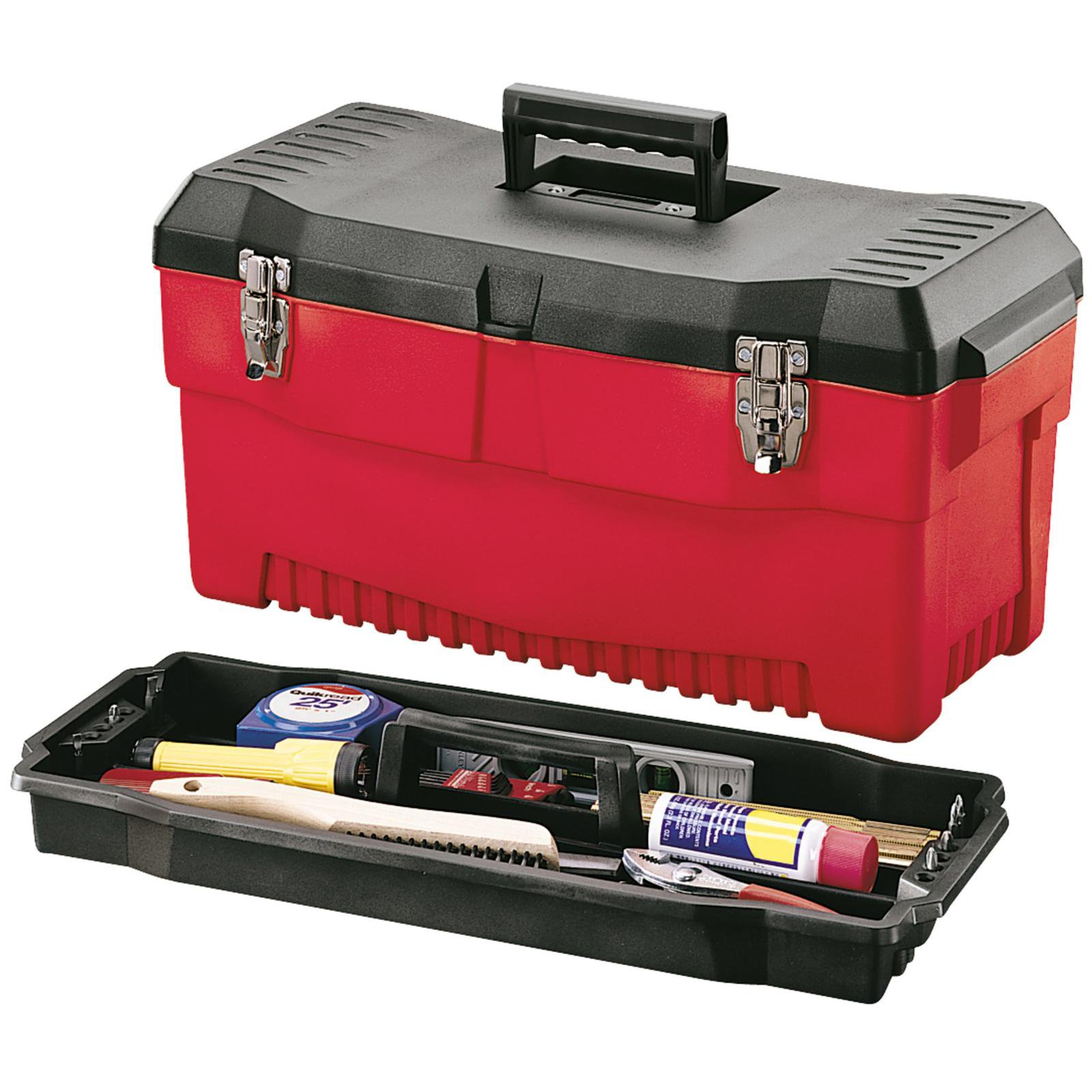 "Stack-On 23"" Professional Tool Box, Red"