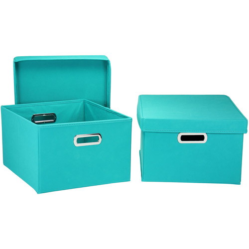 Household Essentials Nested 2-Piece Box Set with Lids