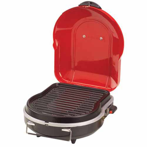 Portable Coleman Fold N Go Propane Grill