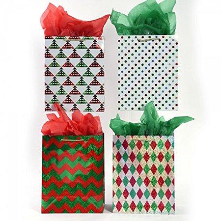 Christmas Gift Bags Images.Small Geometric Holiday Christmas Gift Bags By Flomo