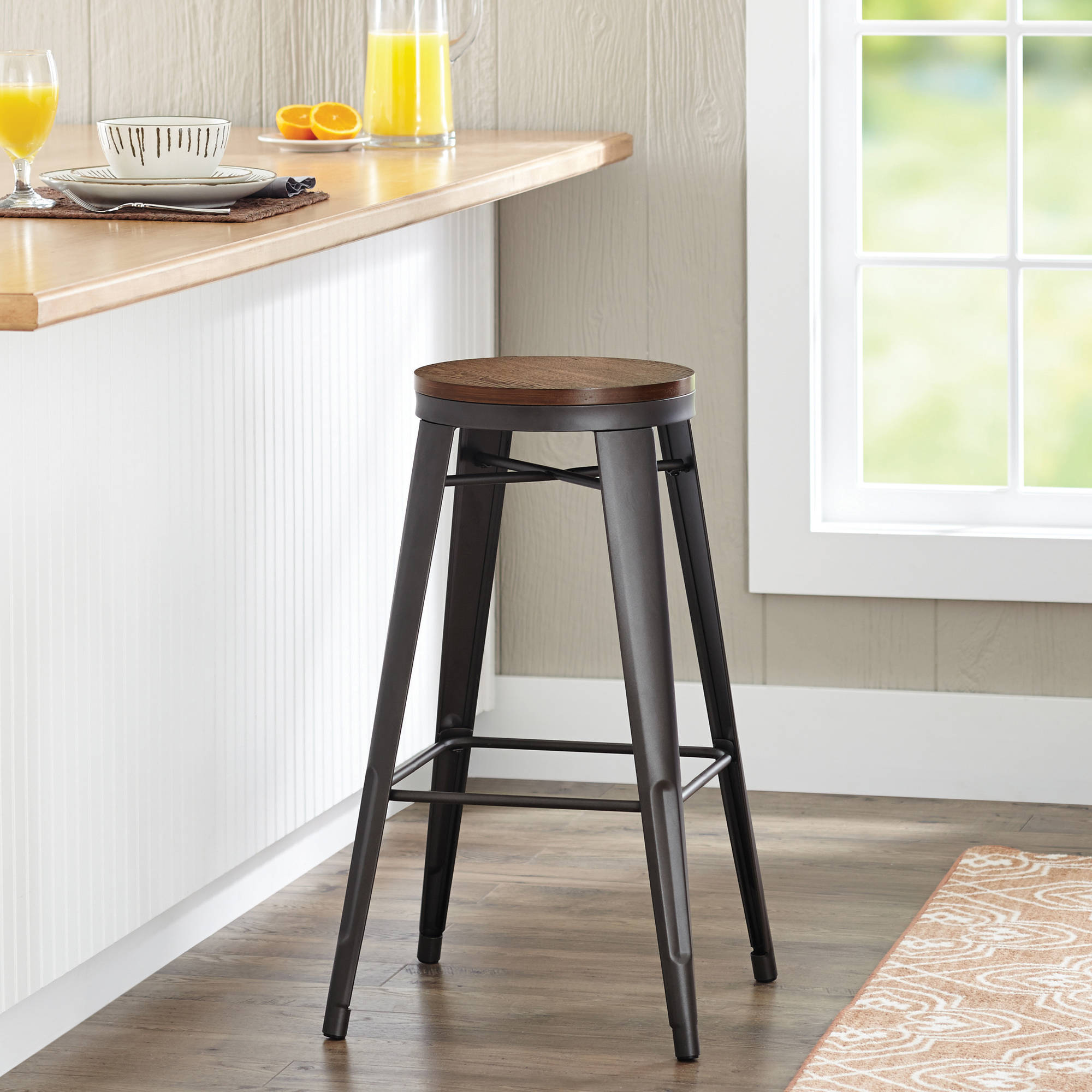 "Better Homes and Gardens 29"" Harper Stool, Multiple Colors"