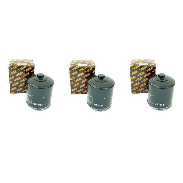 3 pieces 2014-2017 Kymco UXV 700 700i Oil Filter