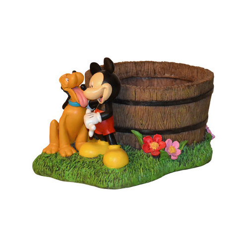 Woods International Disney Mickey Mouse Novelty Statue Planter