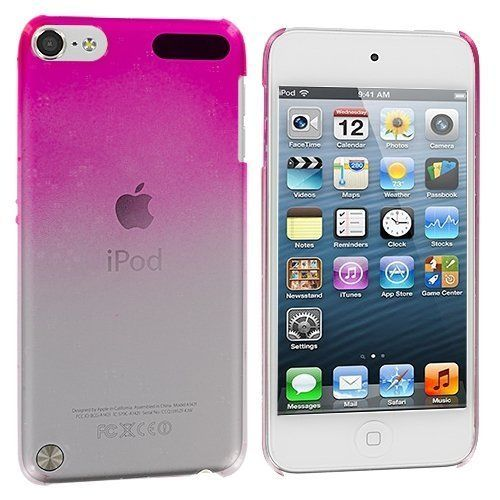 Ultra Slim Clear Raindrop Crystal Hard Case Cover for ipod touch 5th 6TH Gen 5G 5 6G 6 - Blue