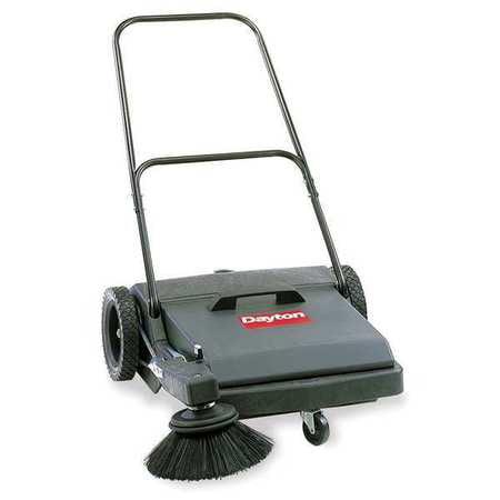 DAYTON 5Z042 Push Sweeper, Walk Behind, 27