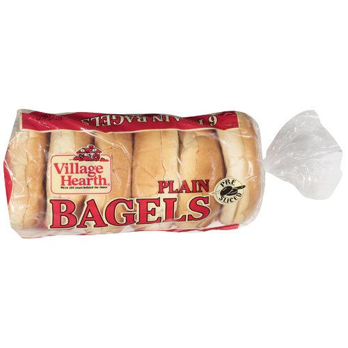 Pan O Gold Baking Village Hearth  Bagels, 6 ea