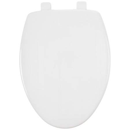 Thunder Grey Elongated Toilet Bowl (Mayfair Elongated Toilet Seat with Sta-Tite)