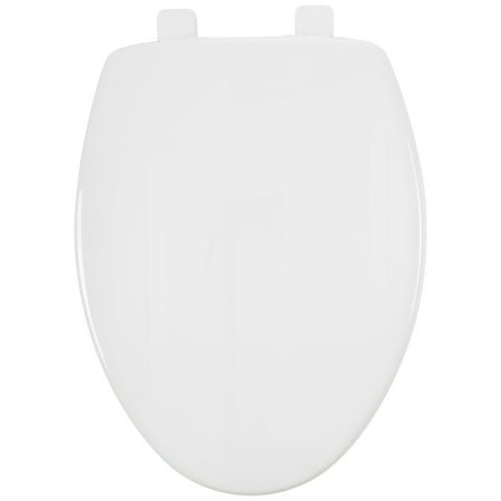 Mayfair Elongated Toilet Seat with Sta-Tite