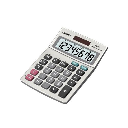 Casio Ms80ssih Solar Desktop Caculator With 8-digit Display