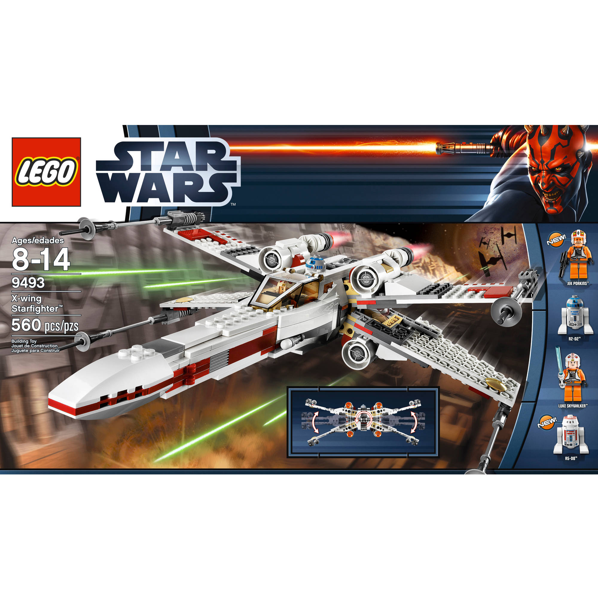 Lego Star Wars X Wing Starfighter Walmart Com