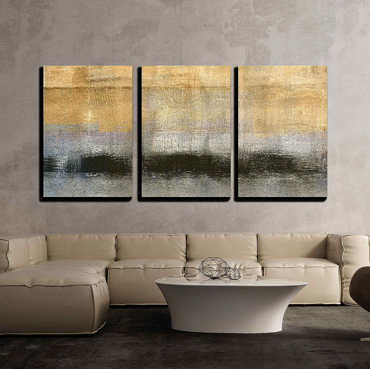 Wall26 3 Piece Canvas Wall Art Beautiful Scenery With The Seas Of Cloud At Sunset Modern Home Decor Stretched And Framed Ready To Hang 24 X36 X3
