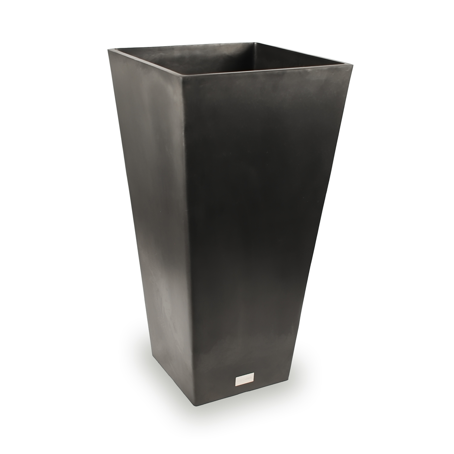 Veradek Midland Tall Square Planter Black 28 in. by Veradek Inc