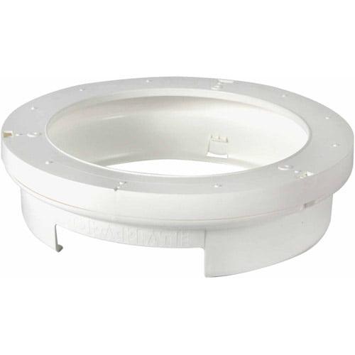 Camco Pop-A-Plate, White
