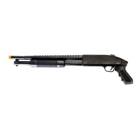 UK Arms Pump Action Spring Powered Airsoft Shotgun Gun