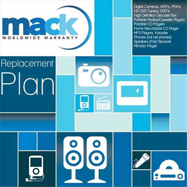 Mack Warranty 1145 1 Year Consumer Electronics 1 Time Replacement Plan Warranty Under 500 Dollars